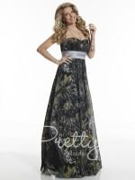 Christina Wu 22631 Camo Chiffon Bridesmaid Dress image