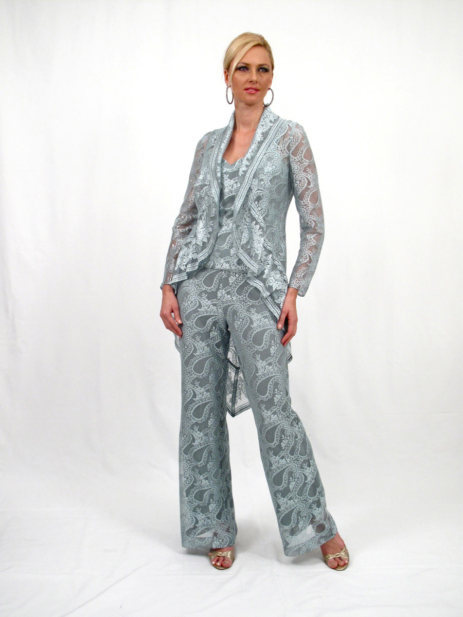 Damianou 2271 Three Piece Mother Of The Bride Pant Set