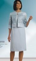 Chancelle 22722 Womens Linen Church Suit image