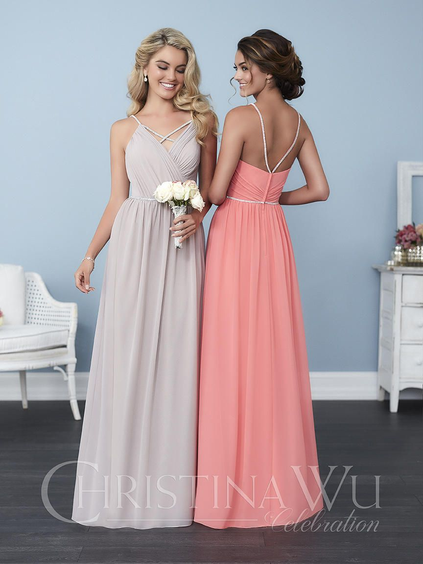 Christina Wu Celebration 22751 Beaded Straps Bridesmaid Gown: French ...