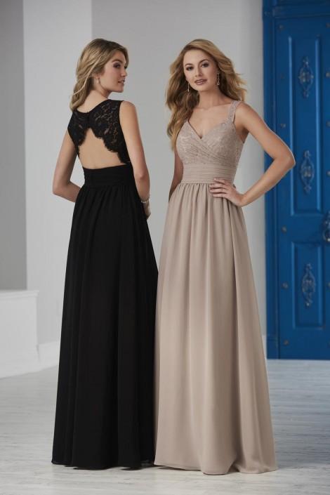 d6c9a553f Christina Wu Celebration 22838 Lace Top Bridesmaid Dress: French Novelty