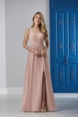 6275c8a69f Size 4 Mahogany Christina Wu 22840 Beaded Back Strap Bridesmaid Dress