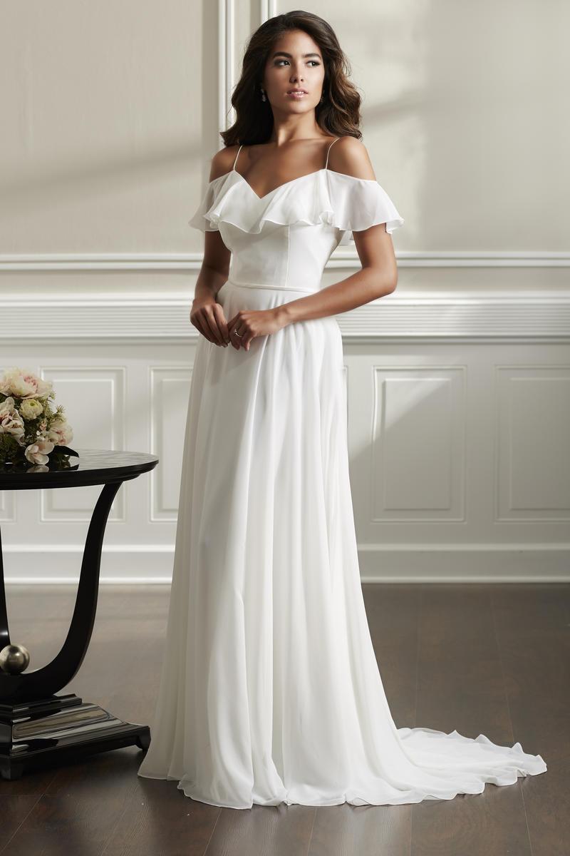 Christina Wu 22897 Destination Wedding Dress French Novelty