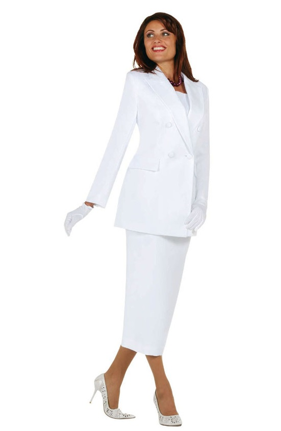 Ben Marc 2298 Womens Church Usher Suit French Novelty