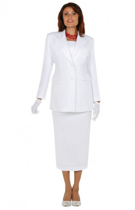 Size 12 Ivory Ben Marc 2299 Womens Group Church Usher Suit French