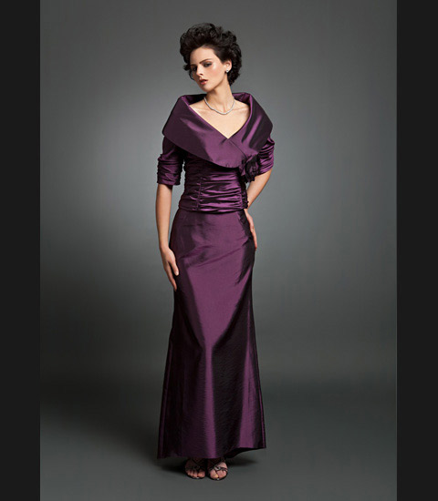 Daymor Couture 232 Mother Of The Bride Long Dress: French