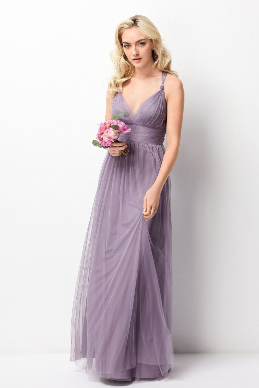 hot sale shop for luxury cost charm Wtoo 244 Bridesmaid Dress with Convertible Neckline