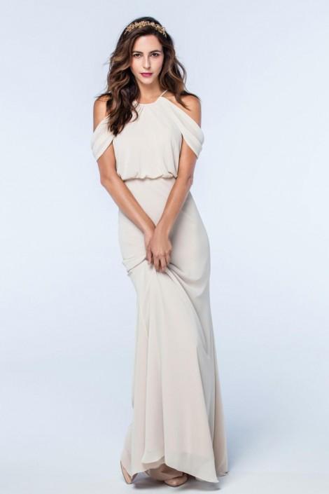 Watters 2510 Deni Off Shoulder Bridesmaid Dress