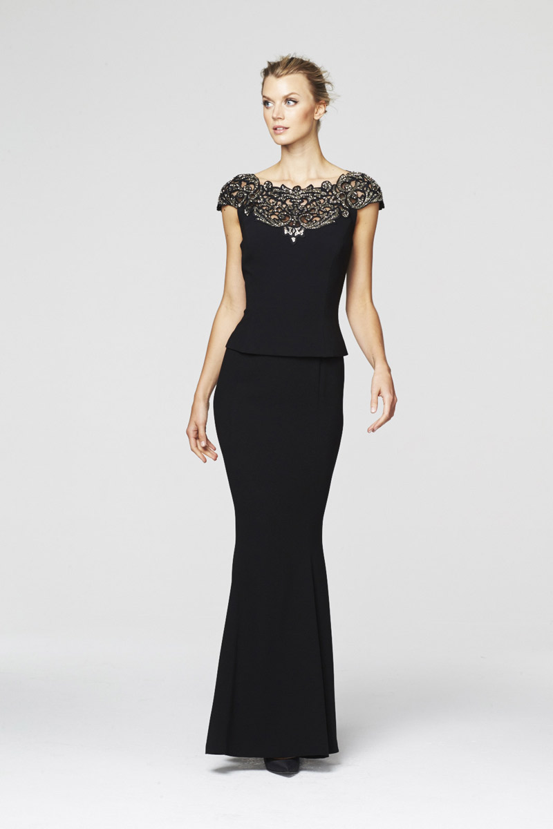 Daymor Couture 260 Cap Sleeve Mother Of The Bride Gown