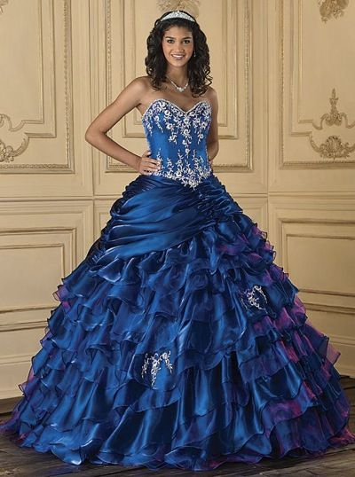 Quinceanera Collection Ruffle Organza Dress 26622 By House