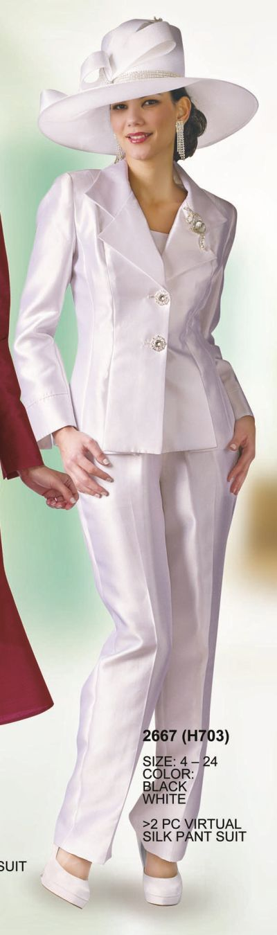 Lily and taylor 2667 womens pant suit french novelty for Virtual suit builder