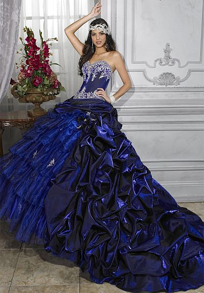 8a2710d5ff Quinceanera Dress by House of Wu 26671  French Novelty