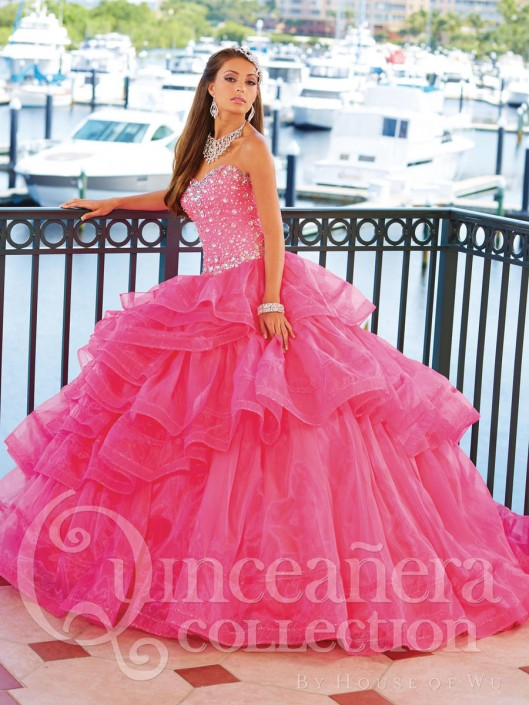 334253d2ffa Quinceanera by House of Wu 26758 Ballgown  French Novelty