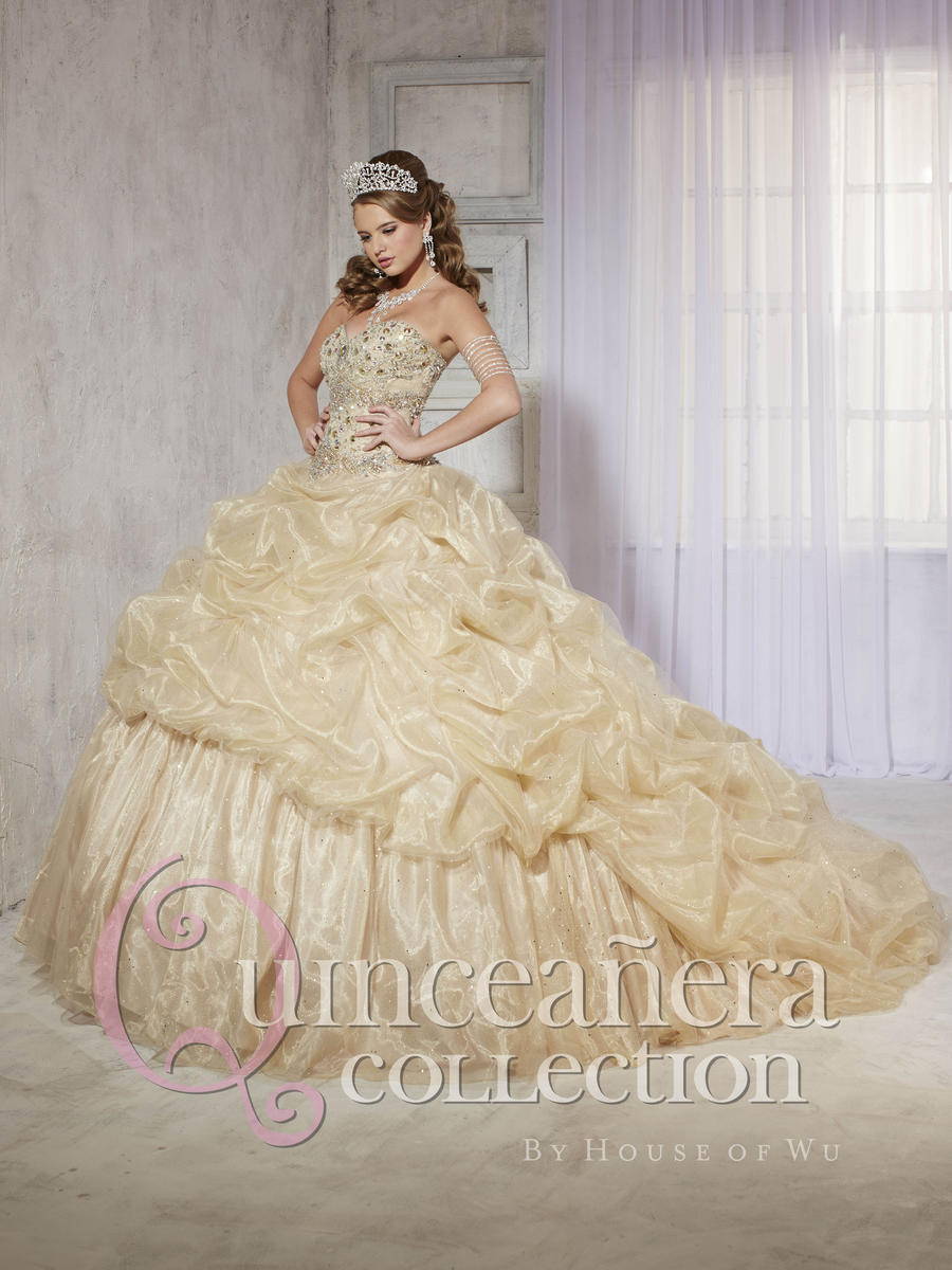 31f777a42f Quinceanera Dress by House of Wu 26768  French Novelty