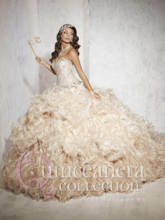 0e57a1b18e Quinceanera Dress 26774 by House of Wu  French Novelty