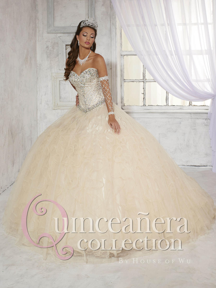 Quinceanera Dress 26779 by House of Wu: French Novelty