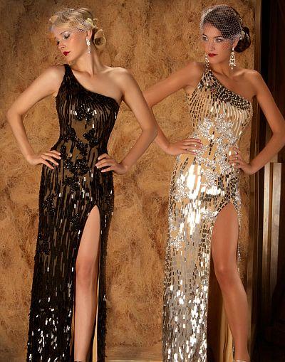 Mac Duggal Couture Abendkleid mit verführerischem Dekolleté
