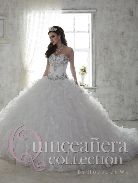 cefdffbcbc House of Wu 26808 Stunning Quinceanera Dress  French Novelty