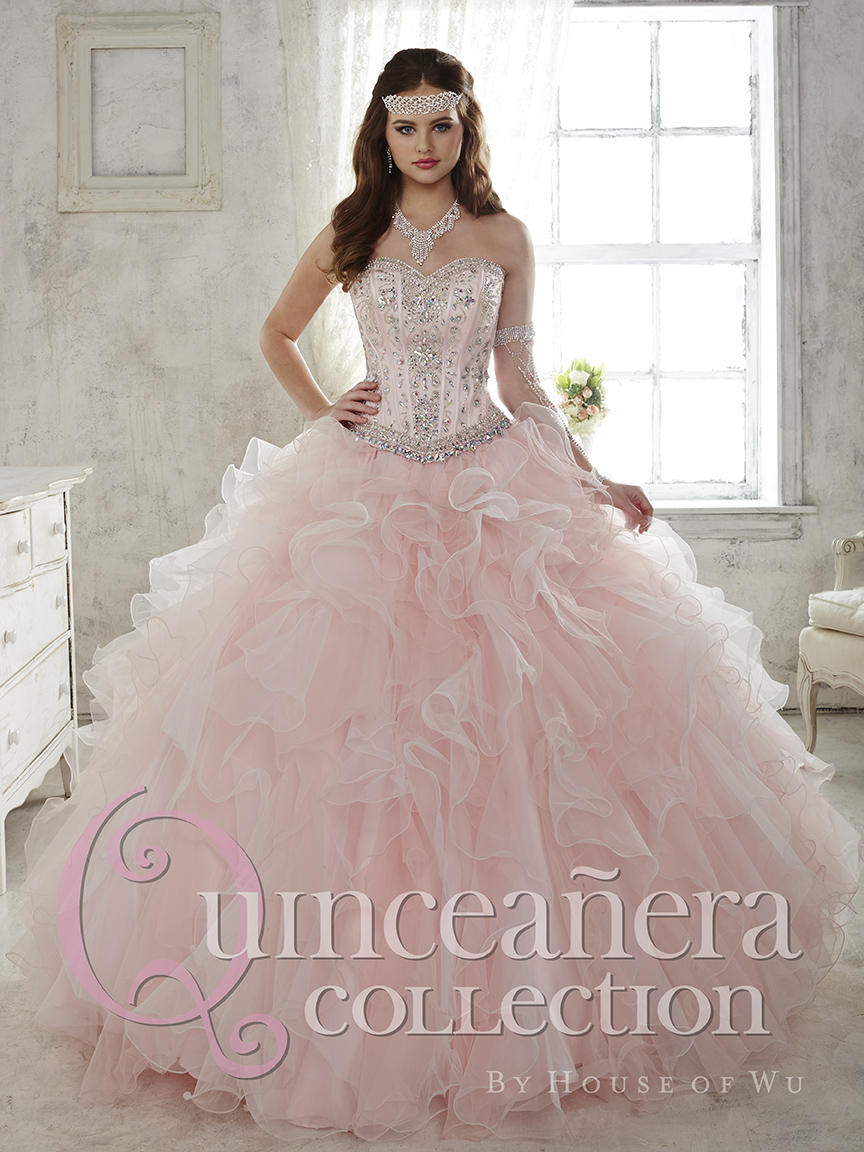 5cd9186e4a2 House of Wu 26811 Quinceanera Dress with Removable Ball Skirt  French  Novelty