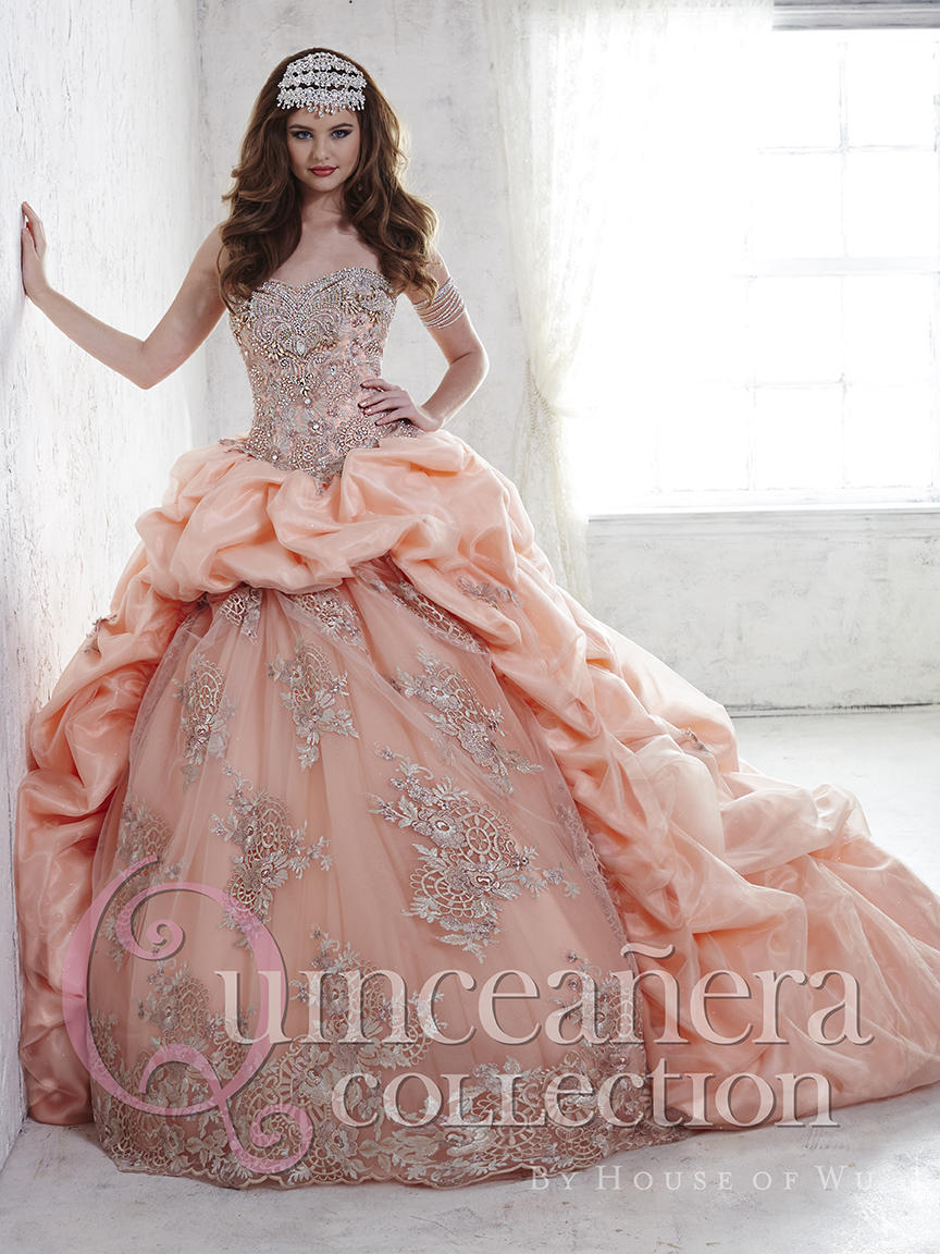 03360ed5d2a House of Wu 26812 Sparkle Tulle Quinceanera Dress  French Novelty