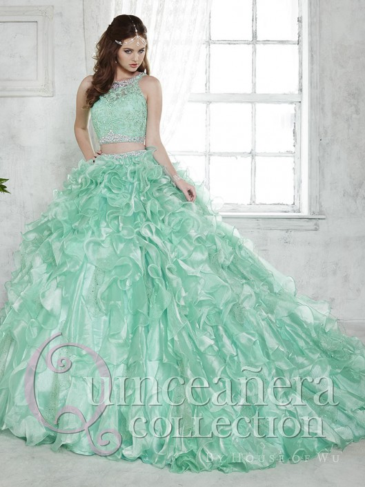 93e4492c03 House of Wu 26813 Removable Skirt 2pc Piece Quinceanera Dress  French  Novelty