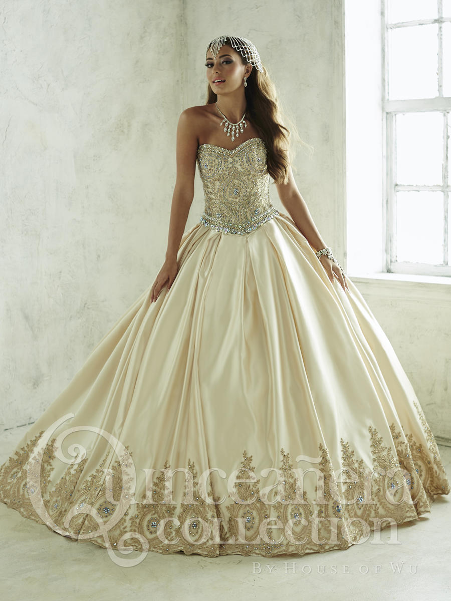 house of wu 26826 long or short quinceanera dress french