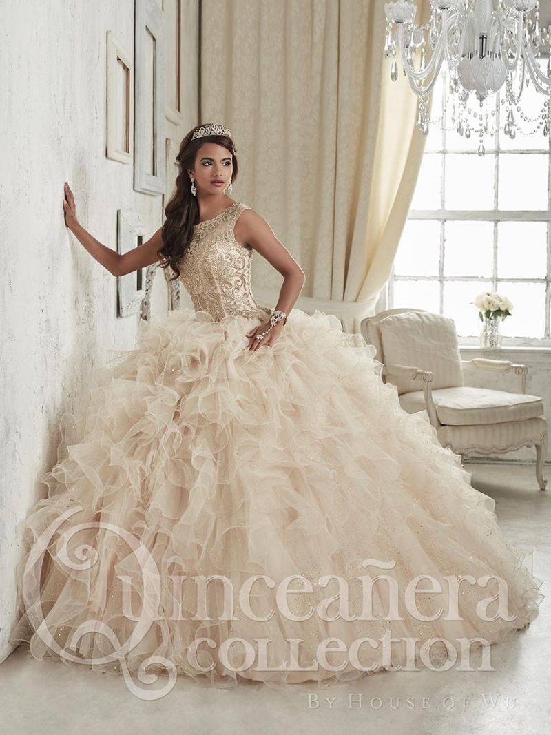 House of Wu 26835 Sparkling Quinceanera Dress: French Novelty