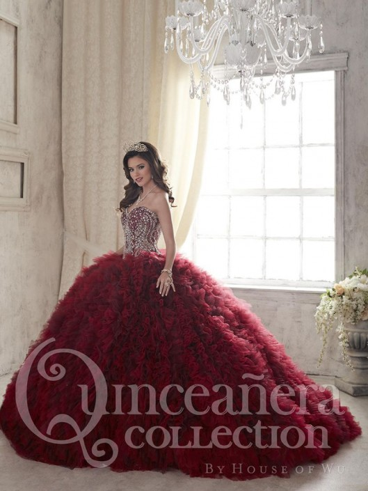 2245739850 House of Wu 26838 Sparkling Quinceanera Dress  French Novelty