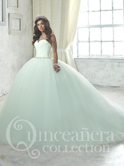 7652c39bf94 House of Wu 26849 Sweetheart Ball Gown Quinceanera Dress  French Novelty