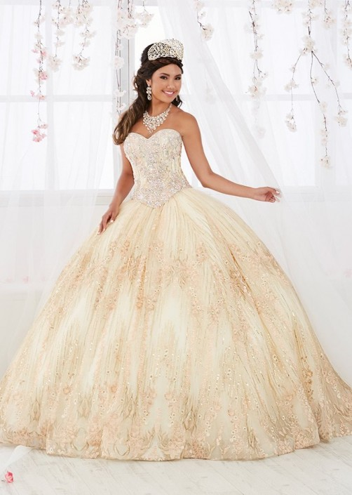cebc860fabc House of Wu 26920 Ball Gown with Removable Long Skirt  French Novelty