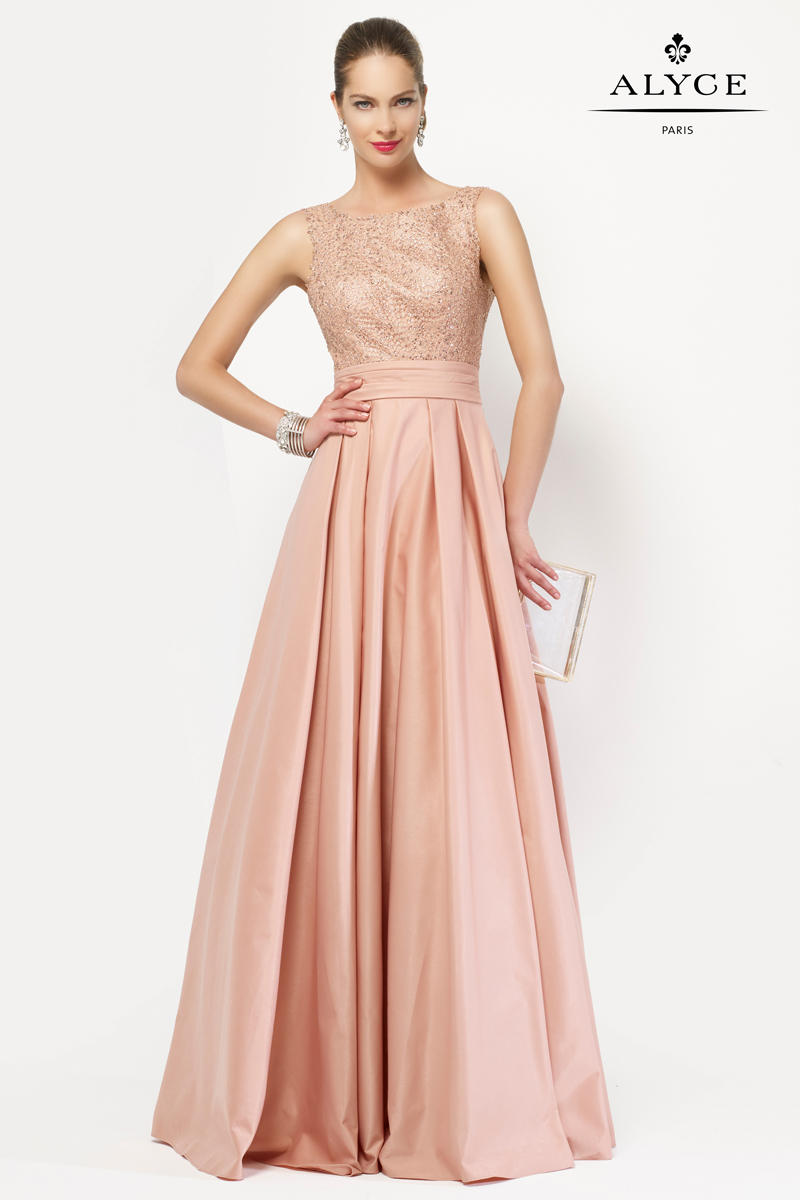 Alyce 27104 JDL Mother of the Bride Dress: French Novelty
