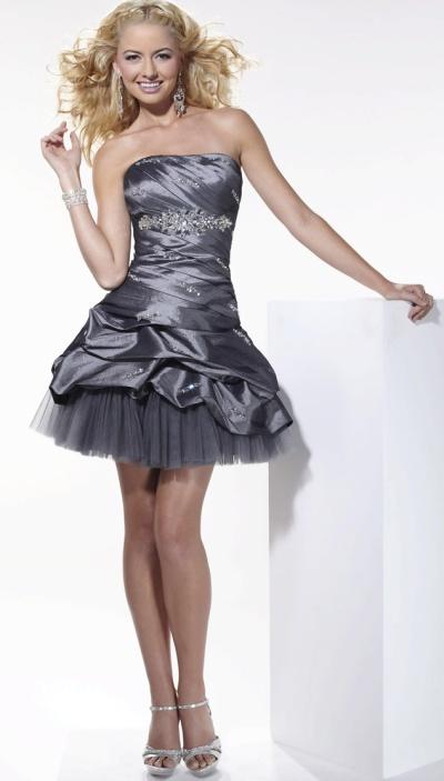 Hannah S Short Wedding Reception Dress 27679