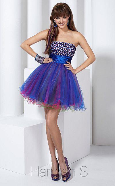 Hannah S Short Tulle Homecoming Dress 27721