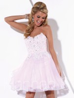 Hannah S 27900 Sparkle Tulle Short Party Dress image