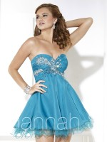 Hannah S 27903 Short Homecoming Dress image