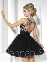 Hannah S 27913 Short Tulle Homecoming Dress image