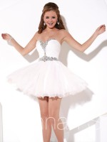 Hannah S 27918 Short Homecoming Dress image
