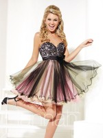 Hannah S 27926 Short Homecoming Dress image