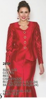 Lily and Taylor 2854 Womens Virtual Silk Church Suit image