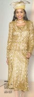 Lily and Taylor 2858 Womens Lace Church Suit image
