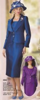 Lily and Taylor 2862 Womens 3pc Church Suit image