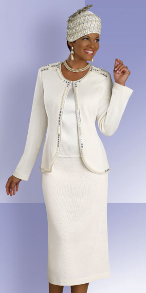 Donna Vinci Knits Womens Church Suit 2887 French Novelty