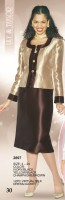 Lily and Taylor 2897 Womens Church Jacket Dress image