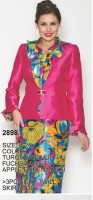 Lily and Taylor 2898 Womens 3pc Church Suit image