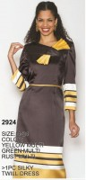 Lily and Taylor 2924 Womens Silky Twill Dress image