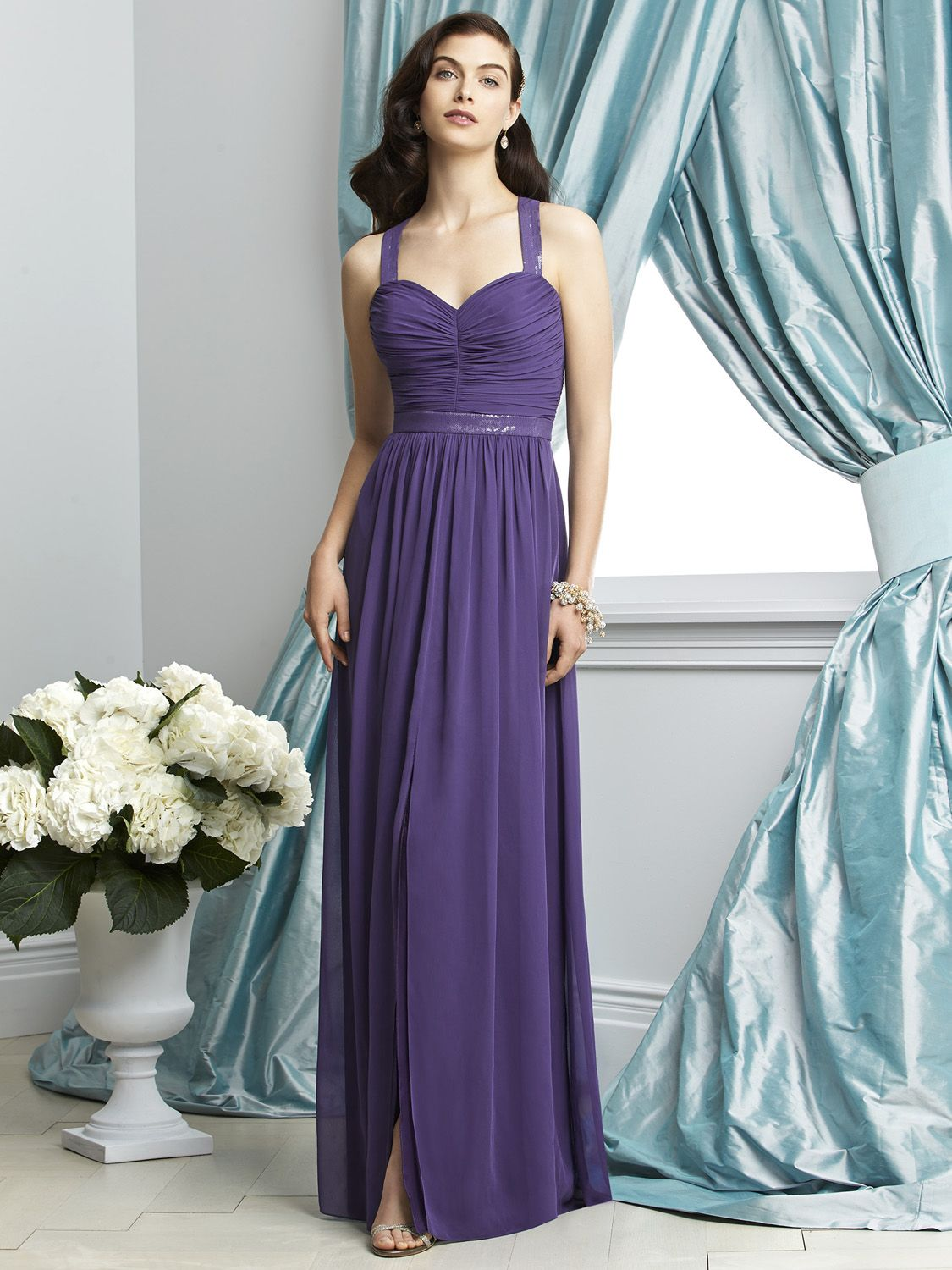 Dessy collection 2926 lux chiffon bridesmaid gown french novelty ombrellifo Choice Image