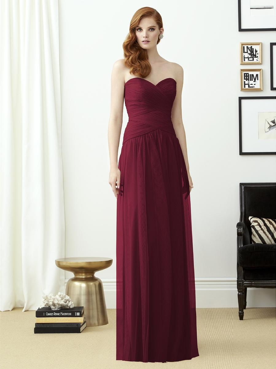 Dessy collection 2950 draped crossover bridesmaid gown french novelty ombrellifo Images
