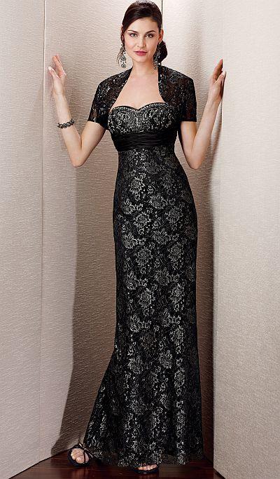 91ed1011aaa Alyce Jean De Lys 29533 Formal Gala Dress with Bolero Jacket  French Novelty