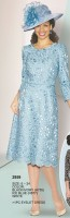 Lily and Taylor 2959 Womens Eyelet Dress image
