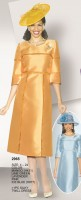 Lily and Taylor 2965 Womens Silky Twill Dress image